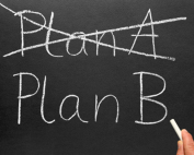 Maybe it's time to try Plan B.