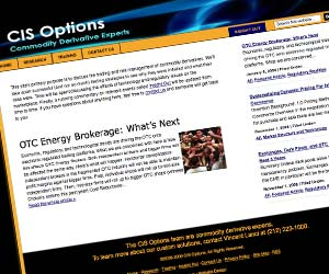 CiS Options - Commodity Derivative Experts