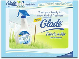 Glade Scent With Love promotional website screenshot