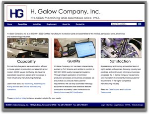 H. Galow Company - New Jersey Manufacturing and Assembly
