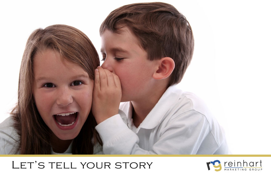 Let's tell your story. Contact Reinhart Marketing in Bridgewater, NJ.