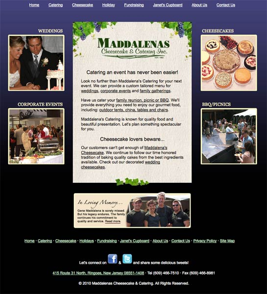 Maddalenas Cheesecake & Catering