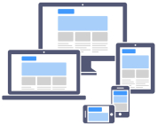 Make your website mobile friendly. A mobile responsive website layout reorganizes to fit different device screen sizes and orientation. Contact Reinhart Marketing in Bridgewater, NJ.