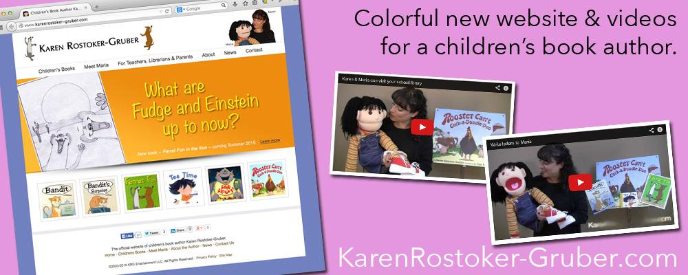 Karen Rostoker-Gruber - Mobile Responsive Website